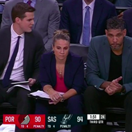 Fans Confused When Tim Duncan Steps Up as Head Coach, Not Becky Hammon, After Gregg Popovich Ejected During Spurs Game