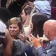 Trey Lyles Spills Fan's Beer Over Her During Spurs-Rockets Game