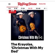 San Antonio Band the Krayolas Land in <i>Rolling Stone</i> With a Review of 'Christmas With My Dad'