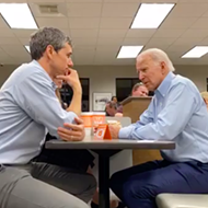 Joe Biden Celebrates Beto O'Rourke Endorsement with Visit to Whataburger