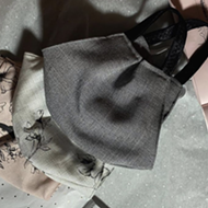 San Antonio Fashion Designer Leighton Whittington Selling Couture Face Masks for a Cause