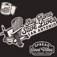 Design Company DeuxSouth Selling Pandemic-Themed Stickers to Benefit San Antonio Food Bank