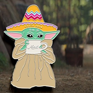 San Antonio's Merit Coffee Sells Baby Yoda Medal to Raise More Than $13,000 to Feed Hungry Kids