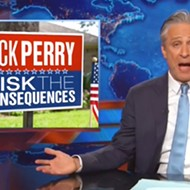 John Stewart Can Barely Contain His Glee Over Rick Perry's Presidential Bid