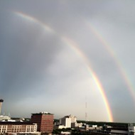 After Torrential Rains, Double Rainbow Reminds Us Everything Will Be OK