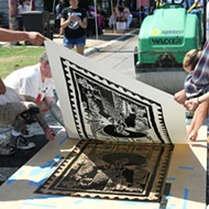 Steamrolled Art: Check Out Chupachanga Block Party