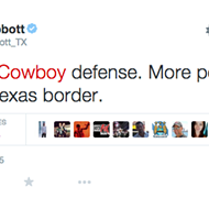 Texas Governor Greg Abbott Compares Dallas Cowboys Defense to 'Porous Border'