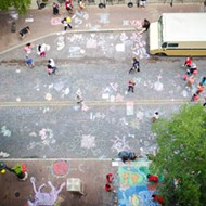 Are You Headed to Artpace Chalk It Up This Weekend?