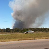 Bastrop County Fire Burns 250 Acres