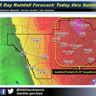 San Antonio May Get a Huge Downpour