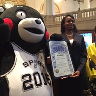 San Antonio's Newest Honorary Citizen Is Already A Spurs Fan