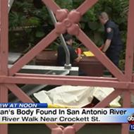 A Dead Body Was Found In The San Antonio River ... Again