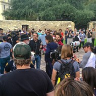 Alamo Whizzer Ozzy Osbourne Gets Hero's Welcome at Alamo