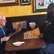 Rapper Killer Mike Gives Stump Speech for Bernie Sanders