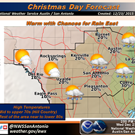 San Antonio Might See Its Warmest Christmas since 1964