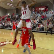 Watch: Dunk By University of the Incarnate Word Player Ends in a Piggyback Ride