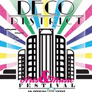 Sunday's Deco District Arts & Music Festival Postponed