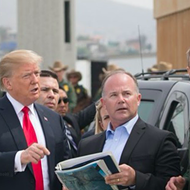 South Texas leaders and activists draw connection between Trump's wall visit and his racist agenda