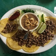 Lunch Hour Snob: Chowing on the Cheap at Dos Meños Tacos