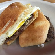 San Antonio 100: Panchos and Gringos' Badass Steak and Egg Breakfast Sandwich