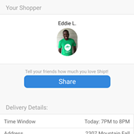 Shipt Delivers H-E-B Groceries with the Touch of a Button