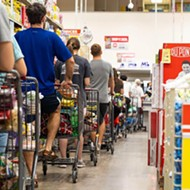 Nearly a year into the pandemic, grocery workers in Texas are more fatigued than ever as they await vaccine access
