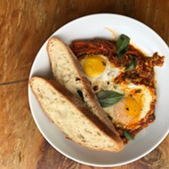 San Antonio 100: Topical Eggs in Purgatory at Alchemy Kombucha and Culture