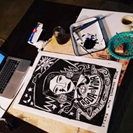Cruz Ortiz Selling New, Original Prints to Benefit Standing Rock Water Protectors