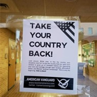 "Fliers at Texas State Tell White Men to Take Back ""The Country Your Ancestors Died For"""