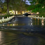 San Antonians have a chance to drive through Brackenridge Park's low-water crossing this week
