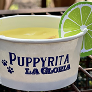 San Antonio's La Gloria debuts dog-friendly 'Puppyritas' with proceeds going to charity