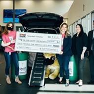 San Antonio company donates 60,000 pounds of dog food to local pet-focused nonprofit DaisyCares
