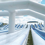 New inflatable waterpark Slide the Slopes will open north of San Antonio on June 10