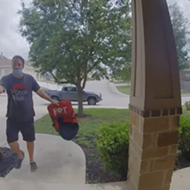 San Antonio delivery driver gets fired after being caught on doorbell cam throwing pizza