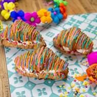 San Antonio brunch staple La Panadería serving up colorful Fiesta-themed croissants