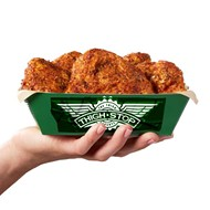 Amid chicken wing shortage, Texas-based Wingstop debuts thigh-based delivery brand