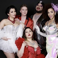 Pastie Pops make their glamorous return to the stage with back-to-back performances on Friday