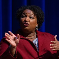 Stacey Abrams rips Texas' new voting law as 'anti-patriotic' during San Antonio speaking appearance
