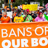 Everyone we saw marching for abortion rights at San Antonio's 'Ban Off Bodies' rally