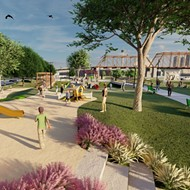 Renderings show details of forthcoming park near San Antonio's Hays Street Bridge