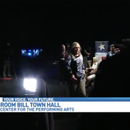 "LGBTQ Activists Disrupt, Walk Out of WOAI ""Debate"" on Anti-Trans Bathroom Bill"