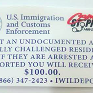 Fake Cards Appear in San Antonio, Offering $100 to Anyone Who Reports Undocumented Immigrants to ICE