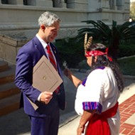 "The City Proclaimed Today, Instead of Columbus Day, ""Indigenous People's Day"""