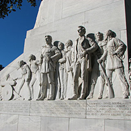 Protesters Fight Pending Relocation of Alamo Cenotaph