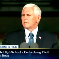 VP Mike Pence Joins Sutherland Springs Community in Prayer After Shooting