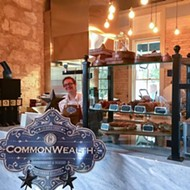 CommonWealth Coffeehouse and Bakery Is Now Open at Hemisfair's Yanaguana Garden