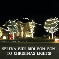 This Family Synced Their Christmas Lights to a Selena Song and It's Perfect