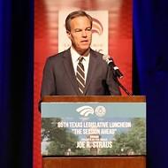 Joe Straus Likens Gov. Abbott's Special Session Menu to Horse Poo