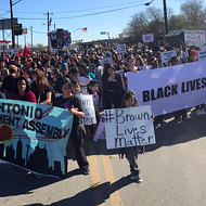 Local Group Organizes Counter Protest to MLK March, Citing Police Shootings