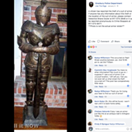 Has Anyone Seen Murphy? A Texas Family's Suit of Armor is Missing